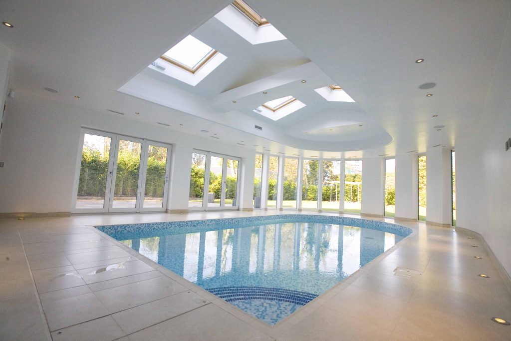 Domestic indoor pool in Hornchurch
