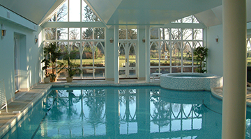 pool designers can advise on what is possible, what is wise and what will simply not work