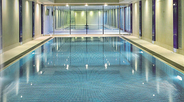 This award winning pool in Winnington Road has since had a major facelift which Aqualia were also involved in